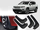 #5: Auto Pearl - Premium Quality Car O.E Type Mud Flaps Guard For - Jeep Compass