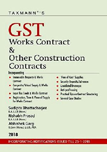 Taxmann's GST Works Contract & Other Construction Contracts