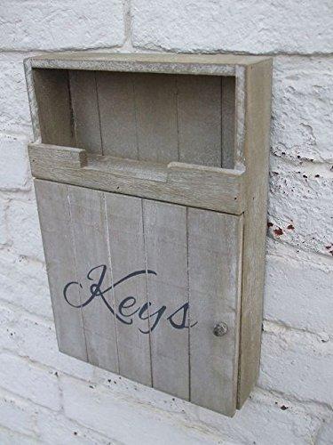 Traumschöner Schlüsselkasten, Schlüsselbox, Schlüsselbrett, Holz - Holz Schlüsselkasten