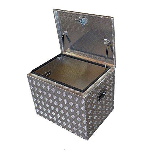 Preisvergleich Produktbild Waterson Alu-Box Profi Truckbox Deichselbox 240 Liter Pritschebox / Werkzeug