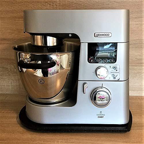 Multigleiter®│Granit Nero Assoluto│ Multi-Gleitbrett für die Kenwood Küchenmaschinen
