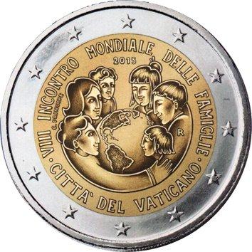 Piece 2 Euros Vatican - Pièce 2 Euros Commémorative Vaticano : Pièce