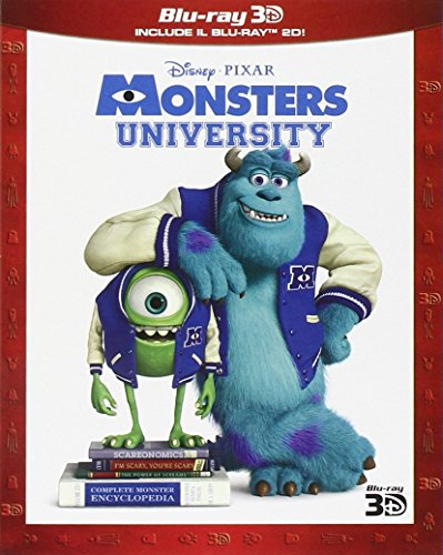 Monsters University (2D+3D) [3D Blu-ray] [IT Import]