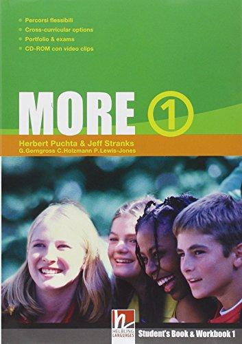 More. Student's pack. Per la Scuola media. Con CD Audio. Con espansione online: 1