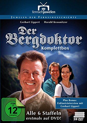 Der Bergdoktor - Komplettbox (Alle 6 Staffeln erstmals auf DVD / 95 Folgen) - Fernsehjuwelen [28 DVDs]