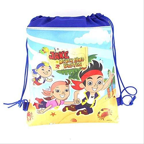 OFOO Rucksack 1 Stück, Cartoon-Schultasche für Jungen, Mädchen, Mario, Fußball, Avengers, Kordelzug, Schulrucksack, Geburtstagsgeschenktasche, Studentenbuch-Tasche wie abgebildet -