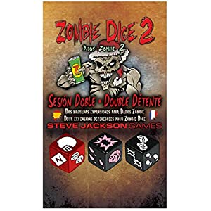 Edge Entertainment- Dados Zombie 2: Sesión Doble (Asmodee, EESJZD02) (