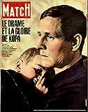 Paris Match n° 711 du 24 Novembre 1962 - Raymond Kopa 4p, Brigitte bardot 10p, Fangio 4p
