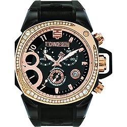 TechnoSport Damen Chrono Uhr - RADIANCE rose gold / schwarz