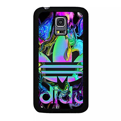 Complex Design Adidas Logo Hard Phone Case for Samsung Galaxy S5 Mini (Louis Vuitton Case Für Galaxy S5)