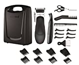 Remington Stylist Hair Clippers, Cordless Use with 8 Comb Lengths and Detail Trimmer, 25 Piece Grooming Kit - HC366