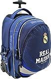*Exclusiv* Real Madrid Trolley Schulranzen auf Rollen Schulrucksack Schulranzen 47x35x20cm EDEL NEU