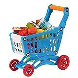 ANNIUP - Carrello per la Spesa per Bambini, Set di Prodotti Alimentari con Accessori di Frutta, Verdura, Cibo per Bambini dai 3 Anni in su
