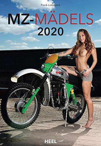 MZ Mädels 2020: Ästhetische Erotik-Fotografien mit MZ Motorrädern