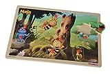 Eichhorn 109345403 - Biene Maja Steckpuzzle mit 9 Steckteilen, 30x20cm