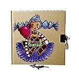 Journal Intime ragazza 15,8x 15,8cm–Zelda