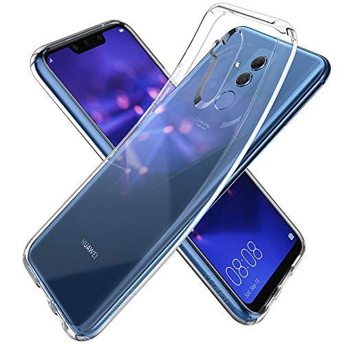 spigen L35CS25066 Liquid Crystal für Huawei Mate 20 Lite Hülle Transparent TPU Silikon Handyhülle Durchsichtige Schutzhülle Flex Case - Crystal Clear