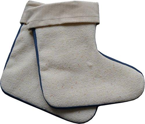 Stiefelsocken aus 100% Lammwolle - Made In Germany Größe 27/28 (Lammwolle Wolle)