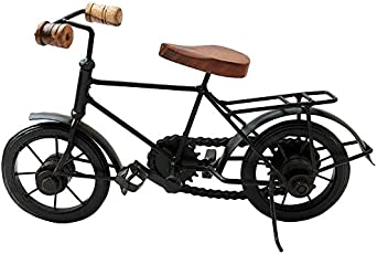 Worthy Shoppee Wrought Iron Small Cycle Home Decorative Item