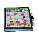 JAGENIE Magic Kids acqua disegno panno libro da colorare animali pittura Doodle con penna