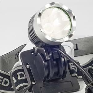Phare lampe frontale à LED CREE XM-L T6 1800 Lumens + Batterie pour vélo bicyclette cyclisme LD119E