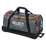 Select Verona Teamtasche mit Rollen, 75 x 40 x 35 cm, grau schwarz orange, 8173000111