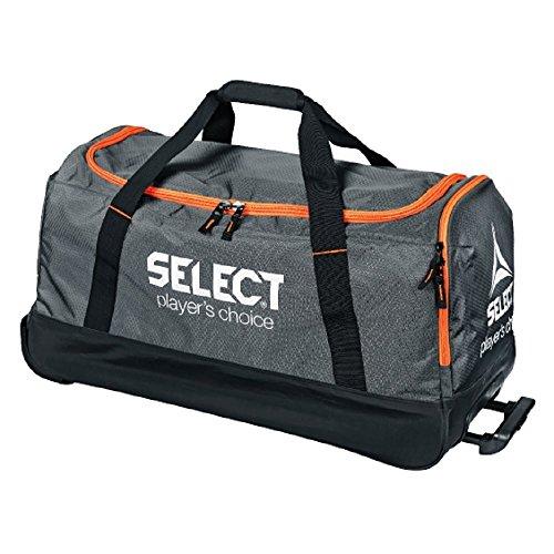 SelectSport Verona Teamtasche mit Rollen - grau schwarz orange grau/Schwarz/Orange