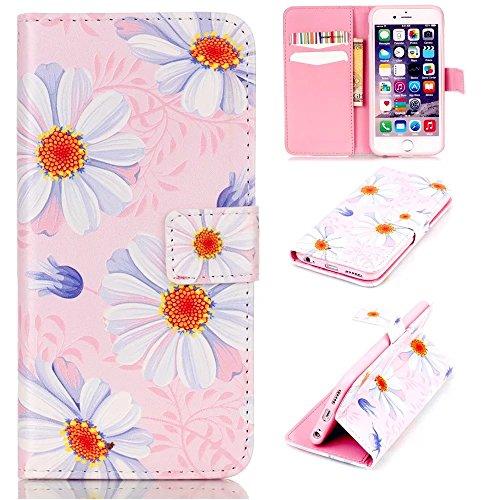 KSHOP Custodia portafoglio in PU pelle per iphone 6 / iphone 6s 4.7