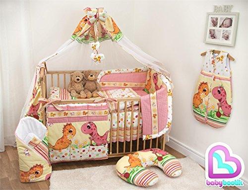 12 piezas ropa cama cuna cama infantil conjunto cinta