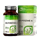 Huperzine A [225mcg] | Concentration élevée | 120 Gélules Végétariennes - Approvisionnement de 4 Mois | Fabriqué au Royaume-Uni dans des Établissements Certifiés ISO | Garantie de Remboursement...