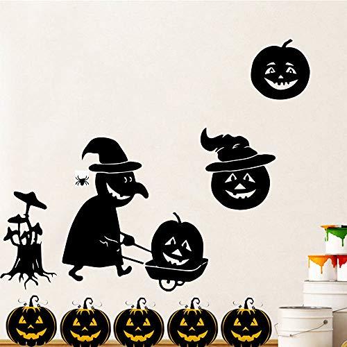 (Wandtattoo Schlafzimmer Wandaufkleber Schlafzimmer Halloween Party Dekoration Kürbis Moderne Zitate Aufkleber Für Kinderzimmer Dekoration Aufkleber)