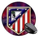 Club Atletico De Madrid Mauspad Round Mousepad PC