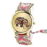 Swadesi Stuff New Arrival Cute Elephant Multicolour Stylish Analog Watch For Girls & Women