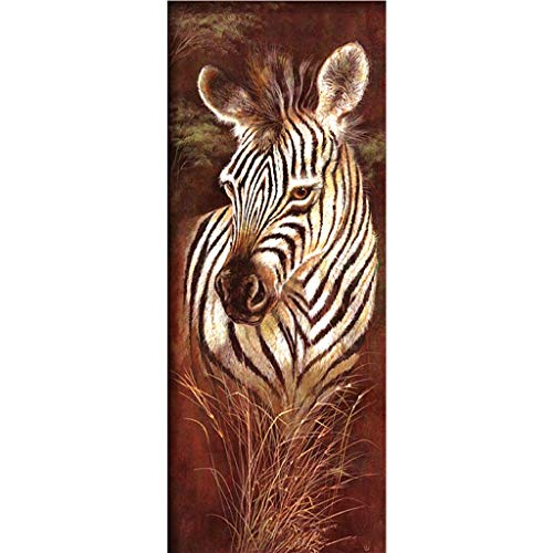 ECMQS Zebra DIY 5D Diamant Painting Full Set, Crystal Strass Stickerei Painting Diamond Dekoration Für Home Wall Décor Zebra Strass