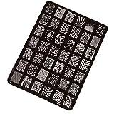 Malloom? Nail Art Decor Nail Stamping Printing Plate Image Stamps