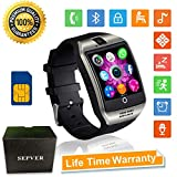 Smartwatch Bluetooth Smart Watch SN06 mit Touchscreen Kamera SIM-Karte Slot Fitness Tracker Sport Uhr für Samsung LG Sony Huawei Xiaomi Android Phones iPhone ios für Damen Herren Kinder
