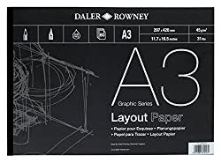 Daler - Rowney A3 Series A Layout Pad