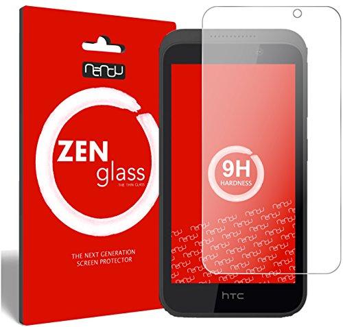nandu I ZenGlass Flexible Glas-Folie für HTC Desire 526G Panzerfolie I Bildschirm-Schutzfolie 9H