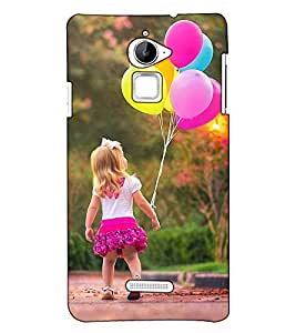 Fuson Designer Back Case Cover for Coolpad Note 3 Lite :: Coolpad Note 3 Lite Dual SIM (A cute little girl theme)