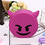 Hykis - Cute Cartoon Emoji 8800mAh Portable USB External Battery Charger Power Bank For Cell Phone for Iphone 8 X Fast Charging[ D ]
