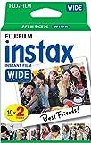 Fujifilm Film - 16385995 - Instax Wide 99 x 62 mm - Compatible Appareil Instax Wide...