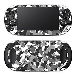Disagu Design Skin für Sony Playstation Vita – Motiv Camouflage Schwarz