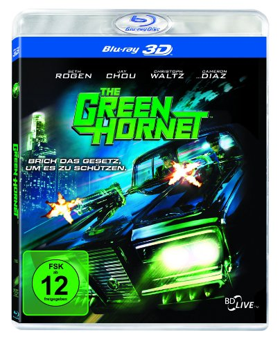 The Green Hornet (inkl. 2D Blu-ray) [Blu-ray 3D]