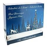 Tee-Adventskalender mit Gravur - Schönes Geschenk zum Advent mit Ihrer Personalisierung