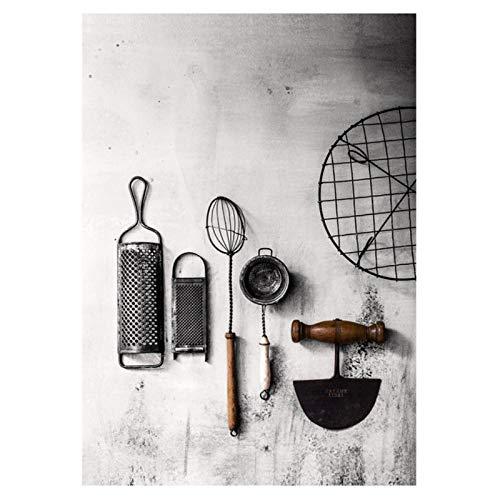 zhaoyangeng Küche Poster Grass Chopper Fotos Hd Prints Home Wand Kunst Modulare Malerei Auf Frischer Leinwand Für Wohnzimmer Dekor-50X70Cm Kein Rahmen