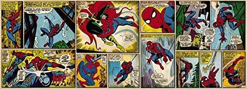Fototapete Marvel Comic Spiderman - Größe 73 x 202 cm, 1-teilig by posterdepot