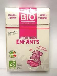 Bonbons Fleurs de Bachs Bio Urgences Enfants