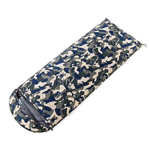 TAHRH Camping Schlafsack wasserdichtIndoor-Gänsedaunen, ultraleichter Camouflage-Schlafsack für den Außenbereich, können bei SN1_600g_White_Goose_down genäht Werden -