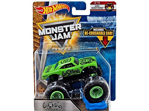 Hot Wheels Monster Trucks Sort. 1:64, Display mit 12 Stück