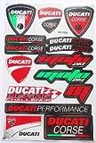 DUCATI Corse stickers decals aufkleber - 1 sheet